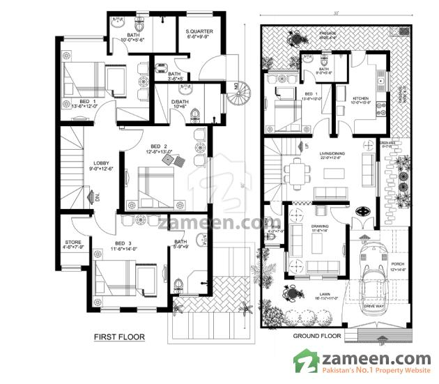 Floorplans of Royal Residencia Lahore - Zameen.com